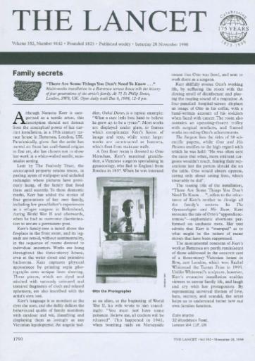 The Lancet - November 1998